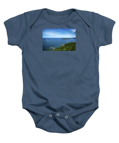 A View From Sugarloaf Mountain Baby Onesie