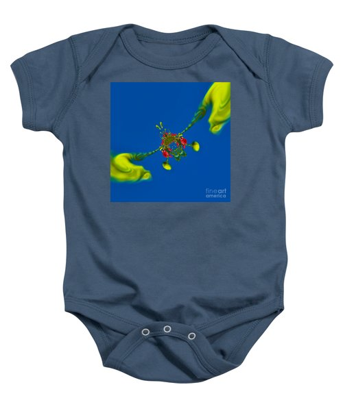 Abstract Lobster 9137205141 Baby Onesie