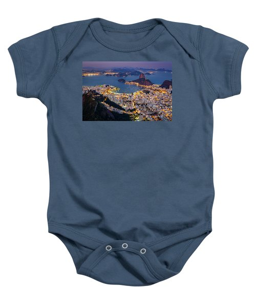 Aerial Rio Baby Onesie