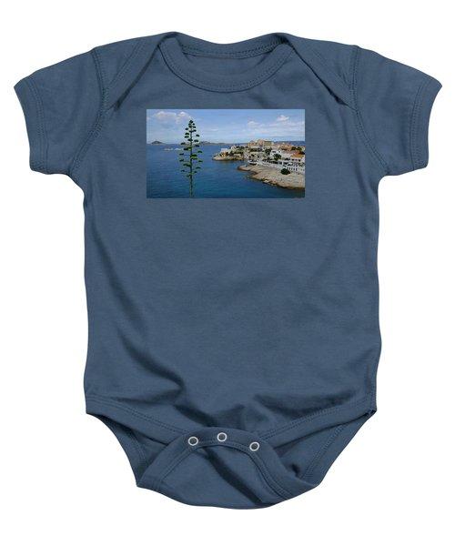 Agave At Corniche Baby Onesie