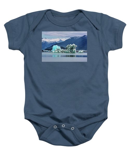 An Iceberg In The Inside Passage Of Alaska Baby Onesie