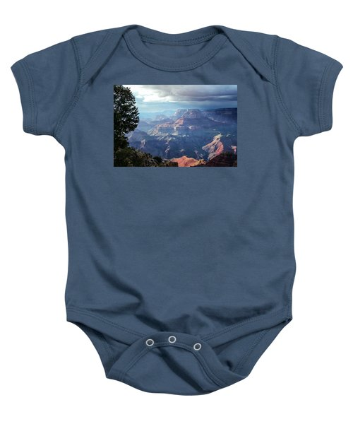 Angel S Gate And Wotan S Throne Grand Canyon National Park Baby Onesie