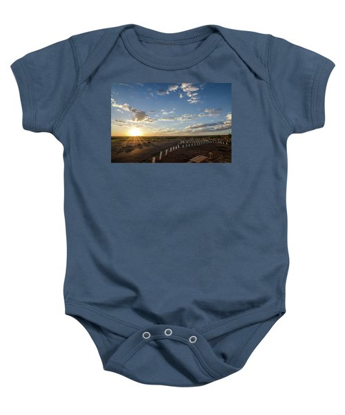 Arizona Sunrise Baby Onesie