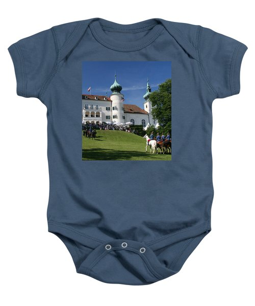 Artstetten Castle In June Baby Onesie