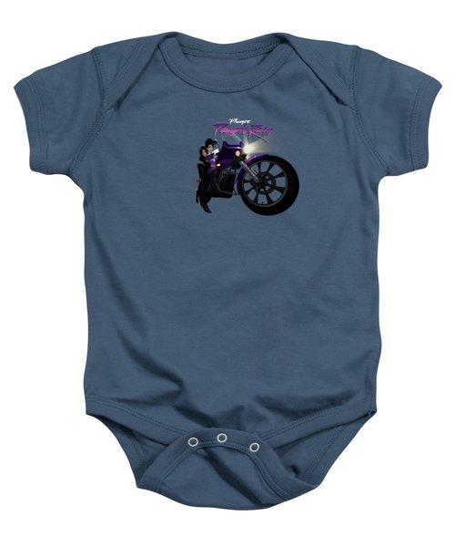I Grew Up With Purplerain Baby Onesie