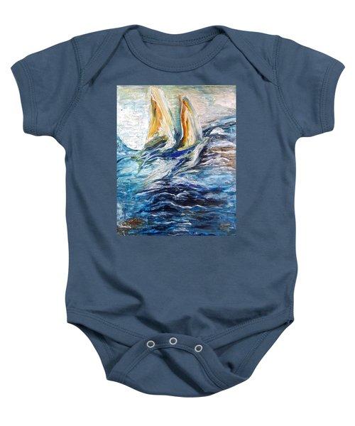 At Sea Baby Onesie