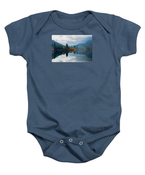 Autumn Reflection Baby Onesie