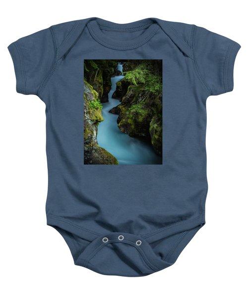 Avalanche Creek- Glacier National Park Baby Onesie