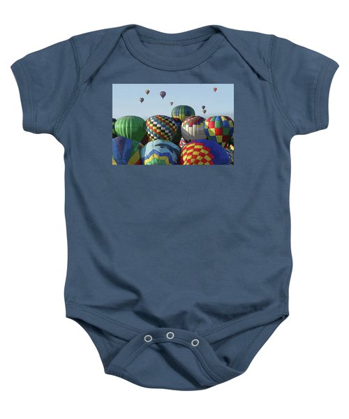 Balloon Traffic Jam Baby Onesie