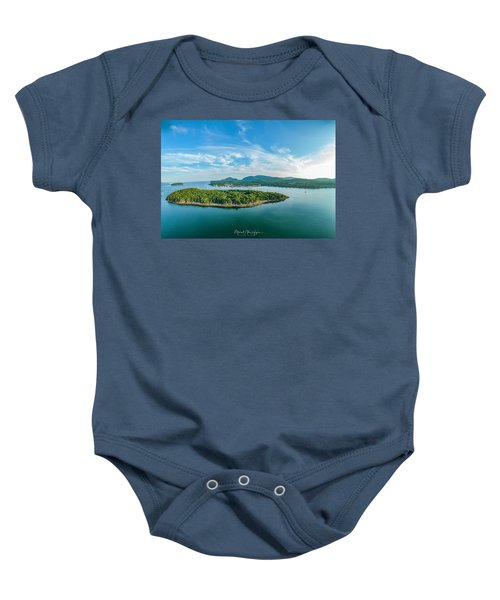 Bar Island, Bar Harbor  Baby Onesie