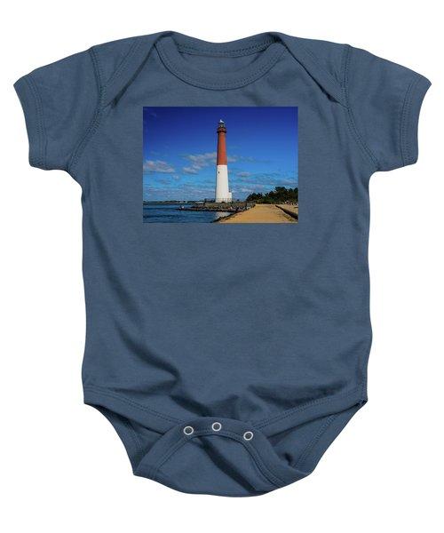 Barnegat Lighthouse Baby Onesie