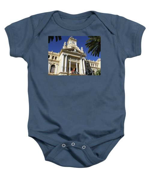 Beautiful Malaga City Hall Baby Onesie