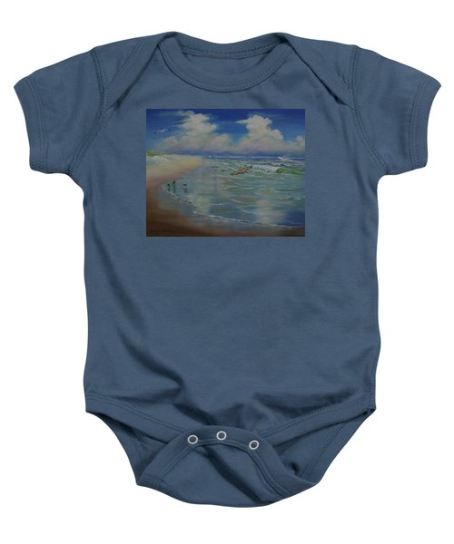 Bird-brains Baby Onesie
