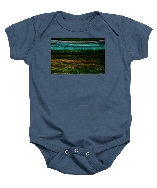 Blue Canoe Baby Onesie
