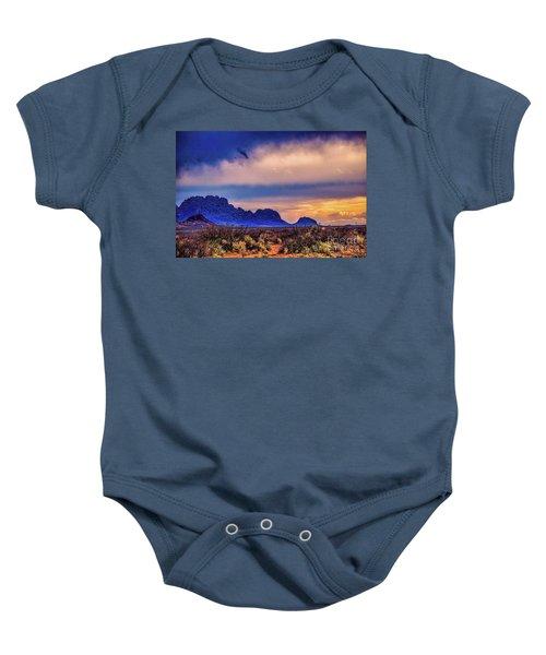 Blue Sunset Nm-az Baby Onesie