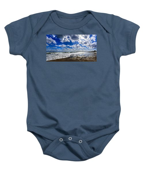 Brilliant Clouds Baby Onesie
