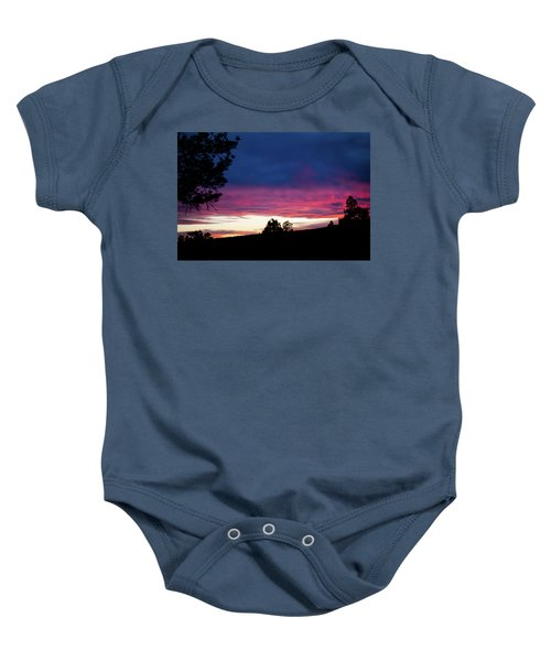 Candy-coated Clouds Baby Onesie