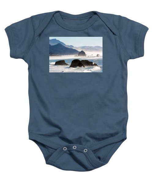 Cannon Beach On The Oregon Coast Baby Onesie