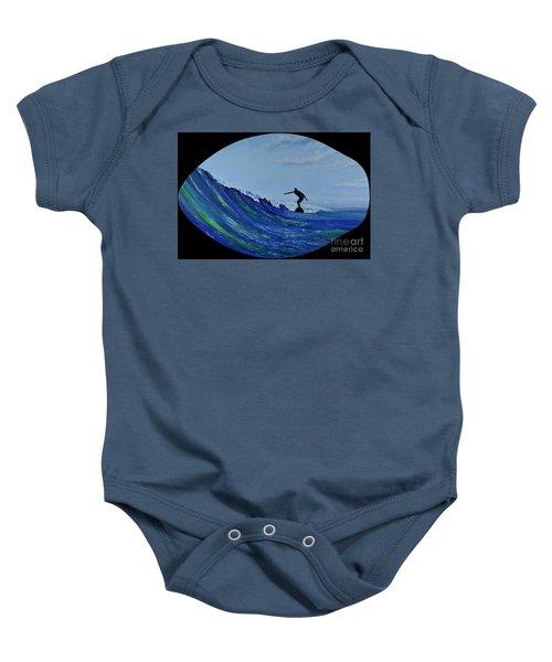 Catch A Wave Baby Onesie