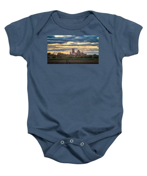 Cathedral Sunset Baby Onesie