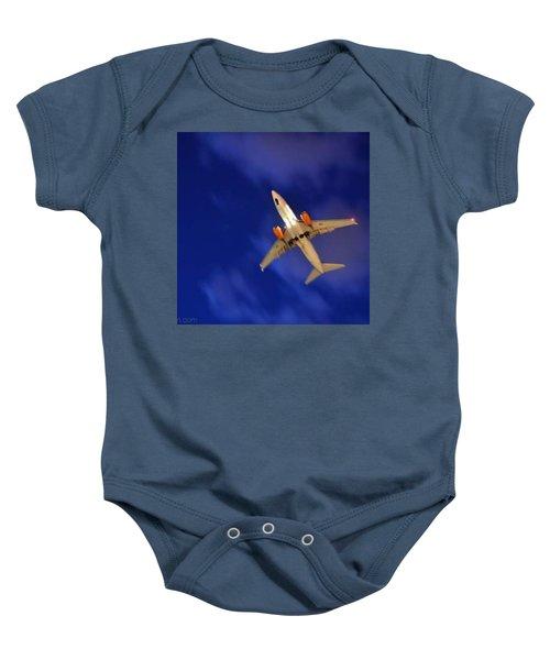 Cgh: Landing Authorized Baby Onesie