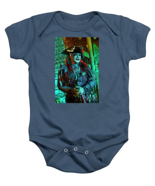 Christine Campiotti And Hunted House Baby Onesie