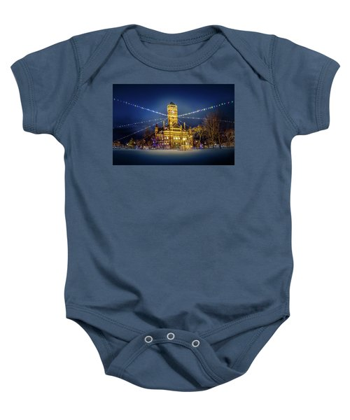Christmas On The Square 2 Baby Onesie
