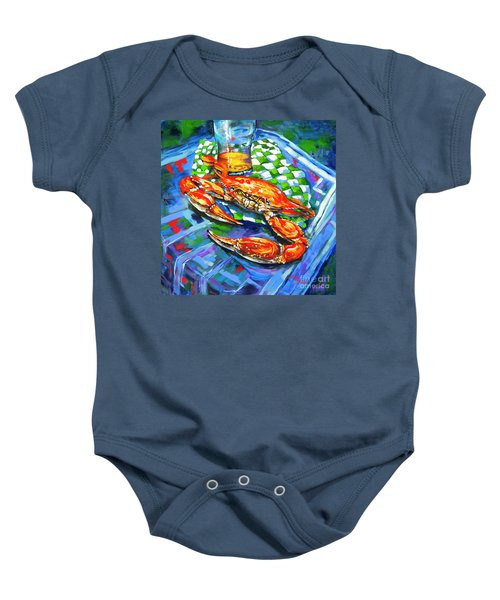 Claw Daddy Baby Onesie