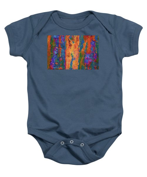 Color Abstraction Lxvi Baby Onesie