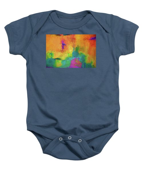 Color Abstraction Xxxiv Baby Onesie