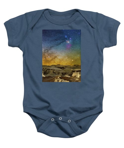 Colors On The Rise Baby Onesie