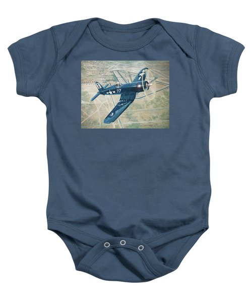 Corsair Over Mojave Baby Onesie