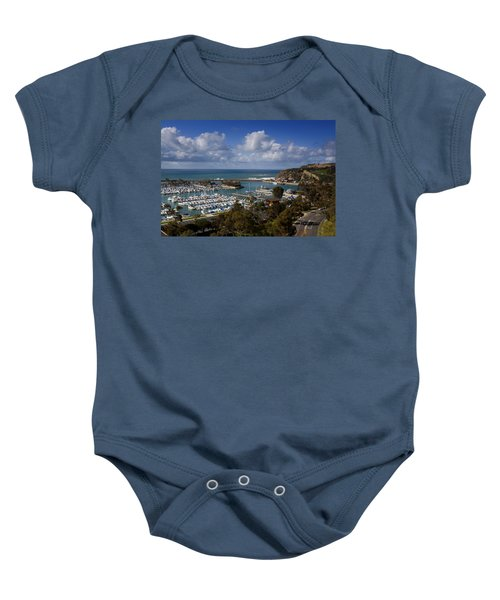 Dana Point Harbor California Baby Onesie
