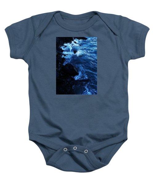 Dark Water Baby Onesie