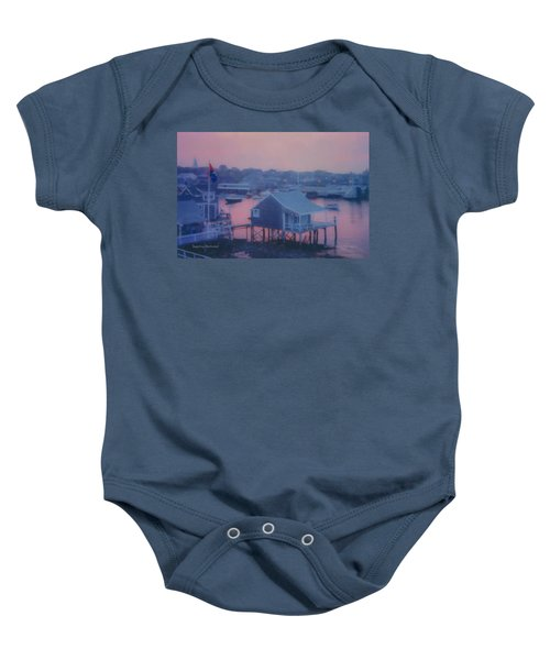Departing Nantucket Baby Onesie