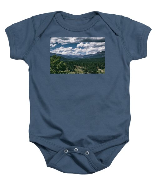 Distant Windows Baby Onesie