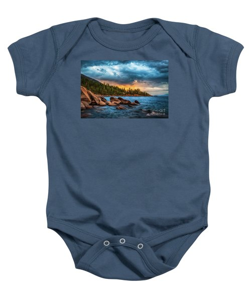 Eastern Glow At Sunset Baby Onesie