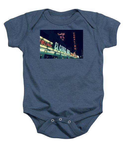 El Cortez Hotel At Night Baby Onesie