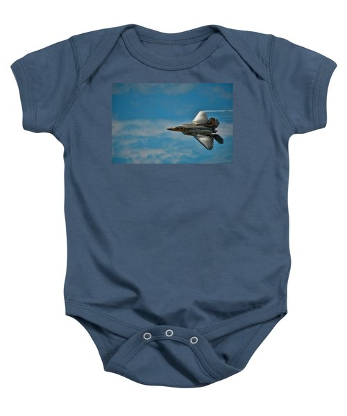 F22 Raptor Steals The Show Baby Onesie