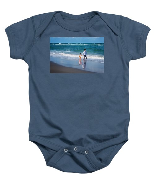 Father And Son Baby Onesie