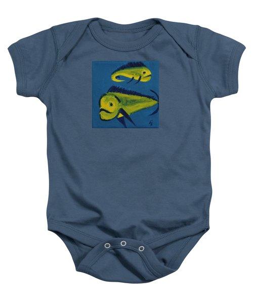 Florida Fish Baby Onesie