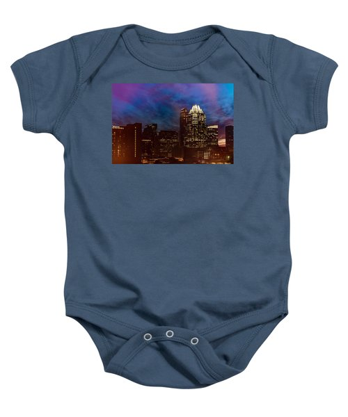 Frost Tower Baby Onesie