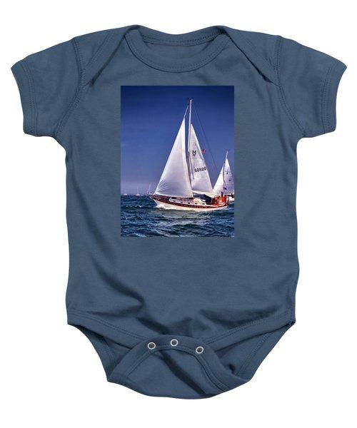 Full Sail Ahead Baby Onesie