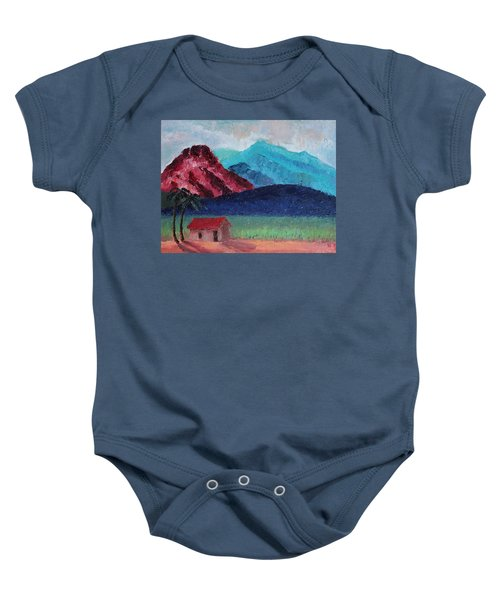 Gauguin Canigou Baby Onesie
