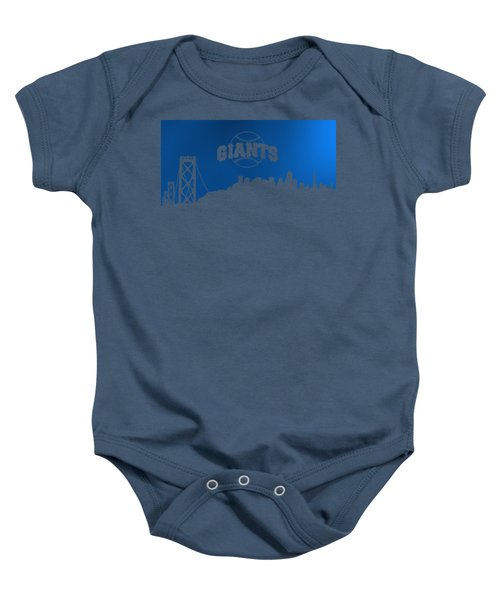 Giants Of San Francisco Baby Onesie