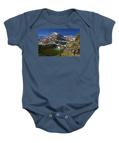 Glacier Backcountry 2 Baby Onesie