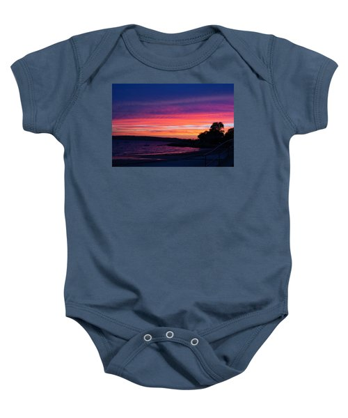 Gloucester Harbor Beach Baby Onesie