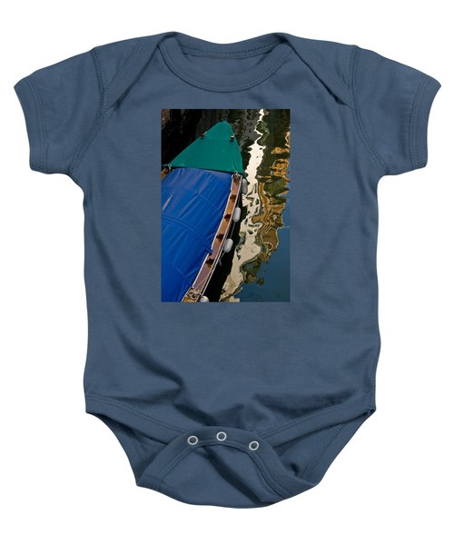 Gondola Reflection Baby Onesie