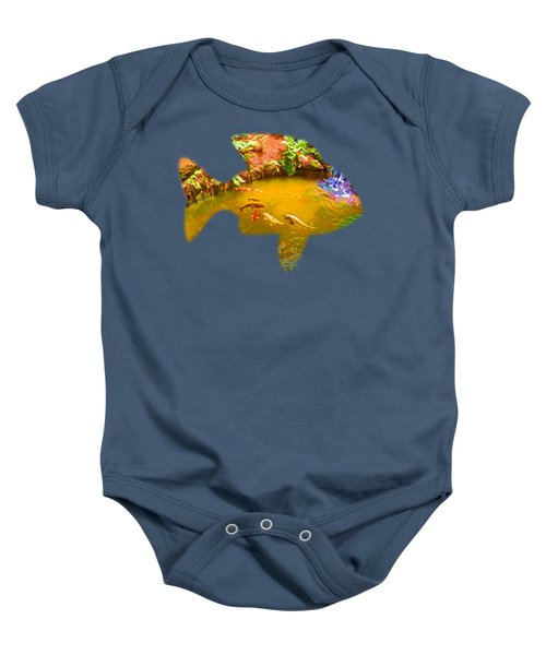 Gone Fishin' Baby Onesie