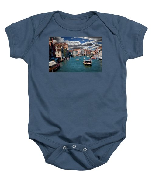 Grand Canal Daylight Baby Onesie